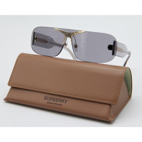 New BURBERRY BE3123 3028/87 Gray Sunglasses
